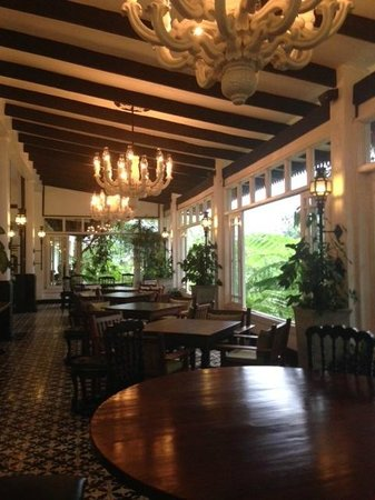 Antonio's Garden: Dining Room