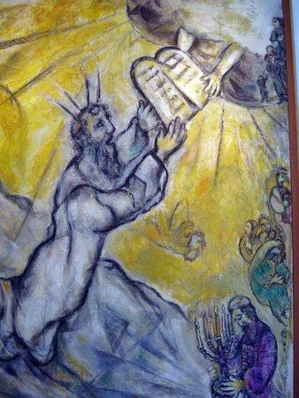 Musée Marc-Chagall (Nice) : Mosè riceve le tavole della Legge