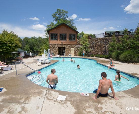 Gatlinburg falls resort updated 2018 prices campground - Gatlinburg falls resort swimming pool ...