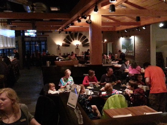 Black Oak Grill: inside view