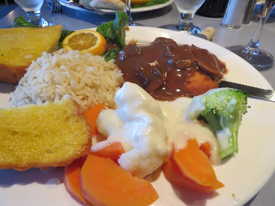 Eleni's Restaurant: Chicken Schnitzel