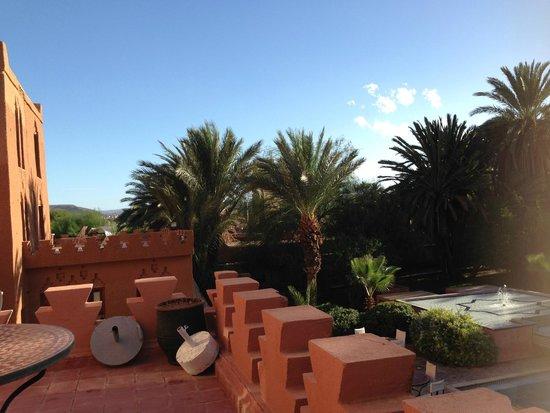 Hotel Ouarzazate Le Riad: vista dalla camera
