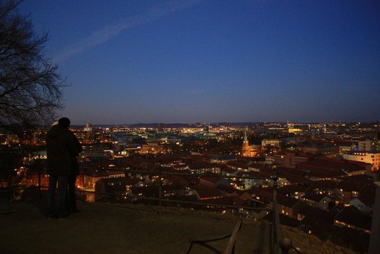 Skansen Kronan : The city from the top of the hill