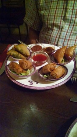 Restaurante Souk: Mixture of tapas