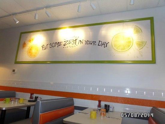 Citrus Diner: Our tag line