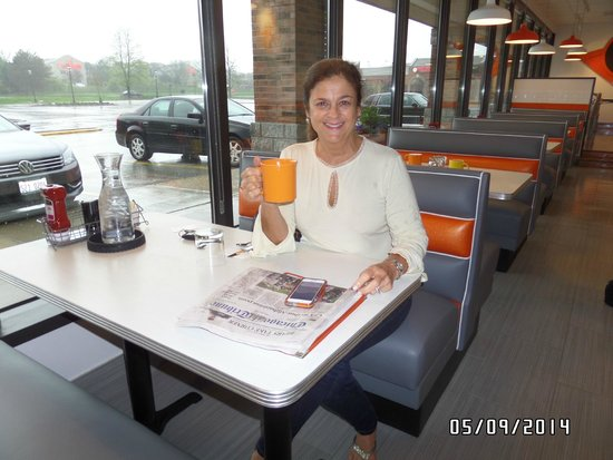 Citrus Diner: Karen, our very first customer