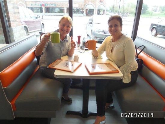 Citrus Diner: Our first customers Karen and Judi