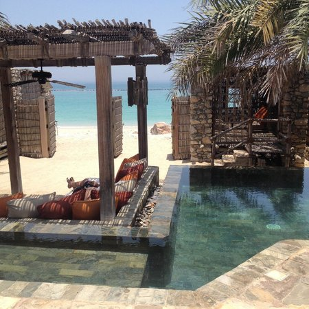 Six Senses Zighy Bay: Villa pool