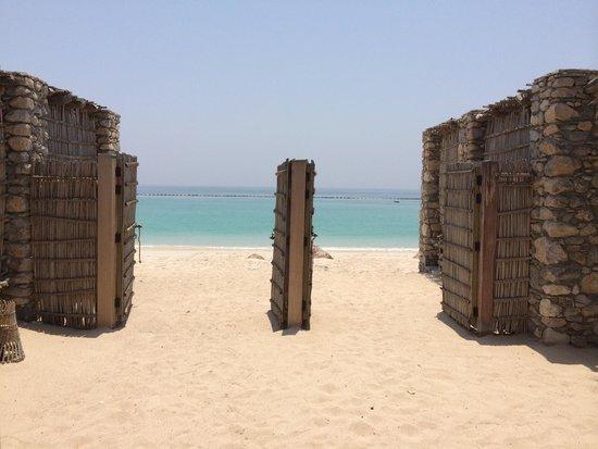 Six Senses Zighy Bay: View from the beach villa