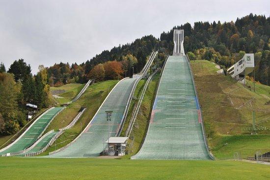 Olympiaschanze: GesamtAnsicht