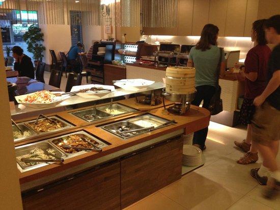 Hotel B Taipei: Breakfast/Restaurant Area