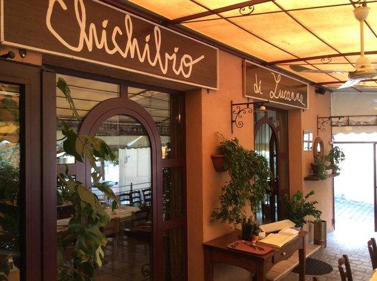 Ristorante Chichibio : La entrata molto carina...