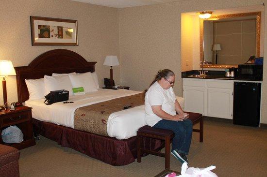 La Quinta Inn & Suites Hayward Oakland Airport : bedroom