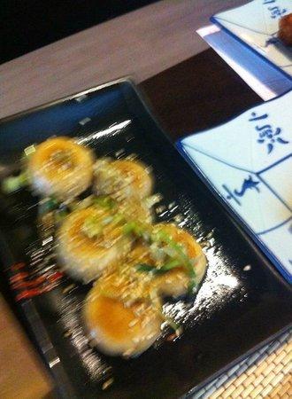 Yamasaki: champiñones al ajillo