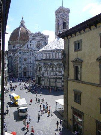 Hotel San Giovanni: Vista desde mi ventana...