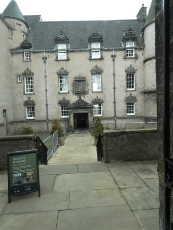 Argyll's Lodging : facade