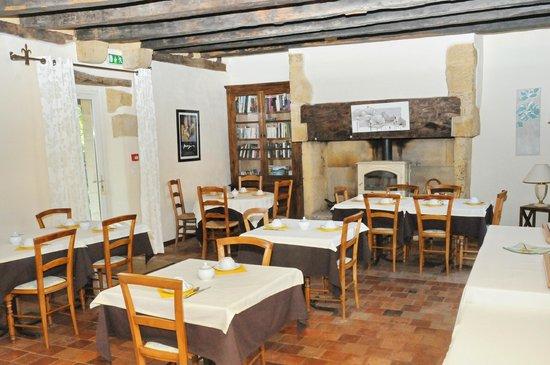 Hotel de la Ferme Lamy : Speisesaal
