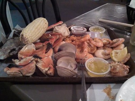 Don's Seafood Restaurant: Dinner - and then some!