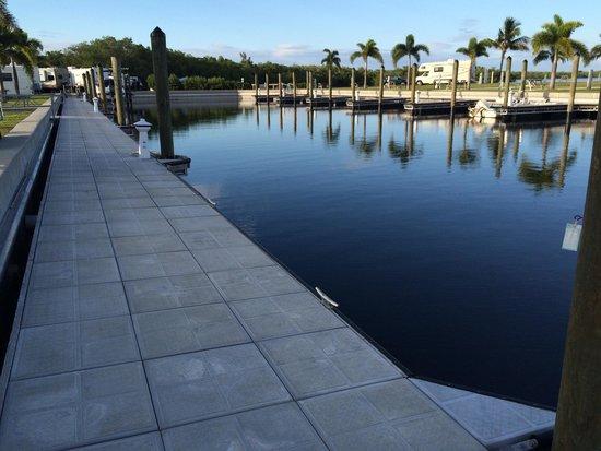 San Carlos R.V. Park & Islands: Dock