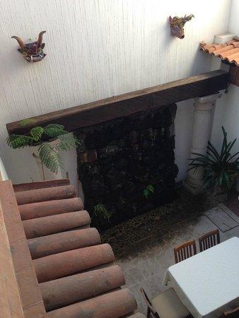 Hotel Meson de los Remedios: Vista desde el segundo nivel