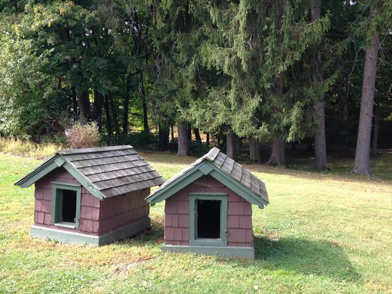 Wilderstein Historic Site: The Dog Houses