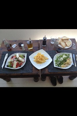 Tharroe of Mykonos Hotel: Delicious!