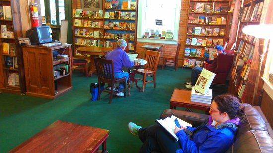 Tattered Cover Bookstore: Cozy reading room