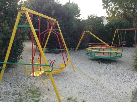 A playground at the B and B
