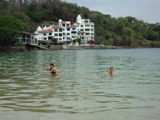 Taboga Island Beaches : Playa de isla Taboga