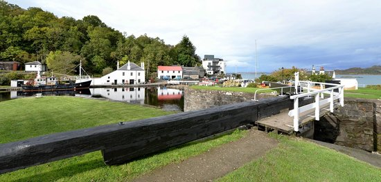 Crinan Canal: Marvelous Views