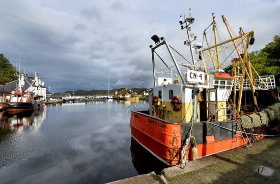 Crinan Canal: Great for boat watching