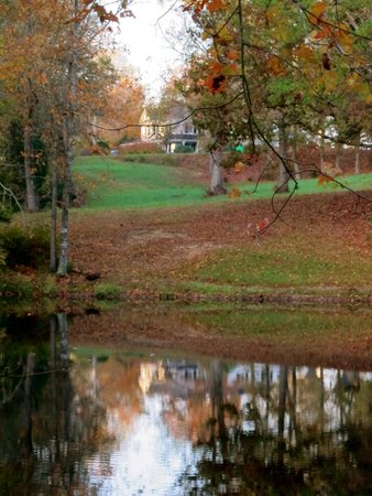 Kilburnie, the Inn at Craig Farm: The grounds are quite beautiful in autumn!