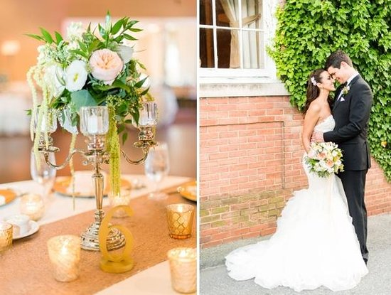 ذا تايدووتر إن: A Tidewater Wedding by Justin Marantz Photography