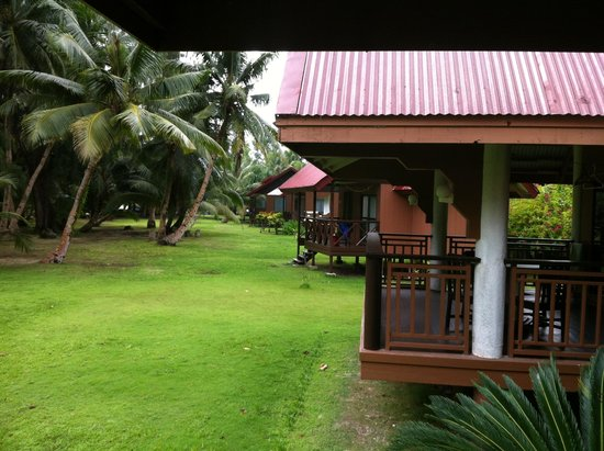 Carp Island Resort: Sunrise bungalows