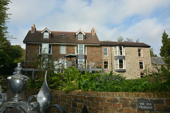 The Old Vicarage: Rear of Old Vicarage