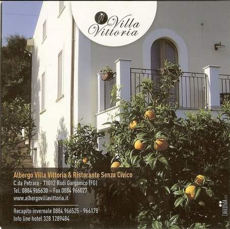 Albergo Villa Vittoria : Sacada do Albergo