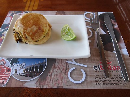 Restaurante El Batan: Empanada