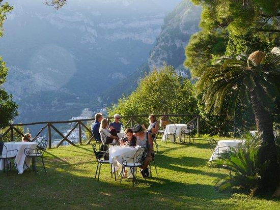 Restaurant inside the villa foto di giardini di villa cimbrone ravello tripadvisor - Giardini di villa cimbrone ...
