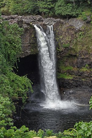 Hawaiian Village Tours: Rainbow Falls Big Island Hawaii