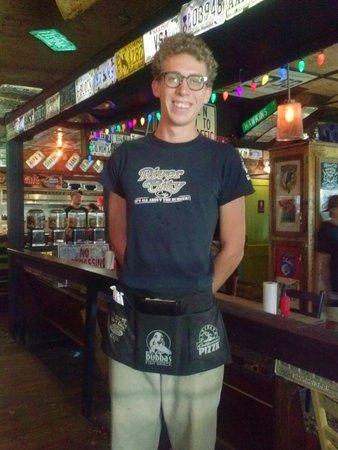 River City Cafe: Server extraordinaire, Taylor!!!!!