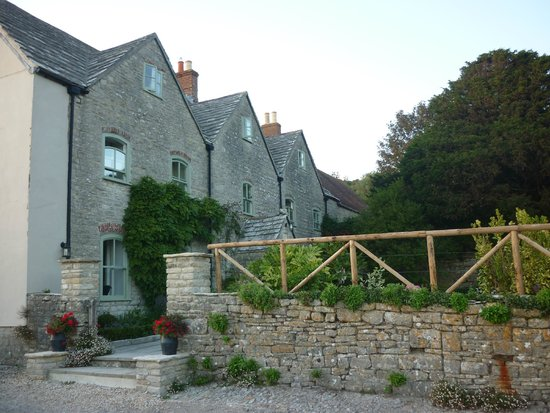 Kimmeridge Farmhouse Bed & Breakfast: the B&B on arrival