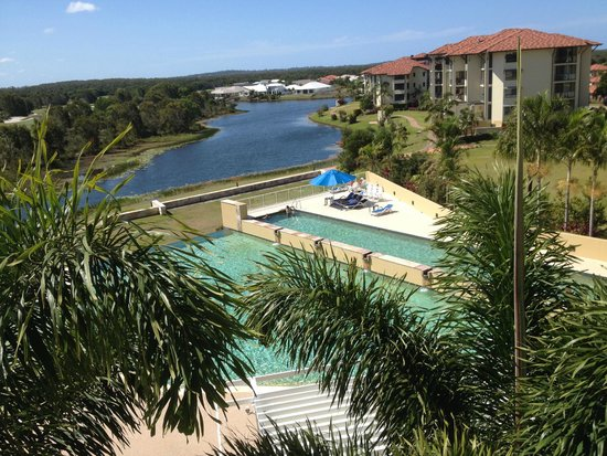 The Sebel Pelican Waters Golf Resort & Spa: View from our balcony.