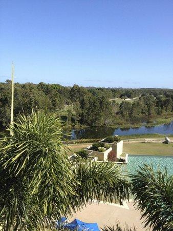 The Sebel Pelican Waters Golf Resort & Spa: 3rd floor balcony view.