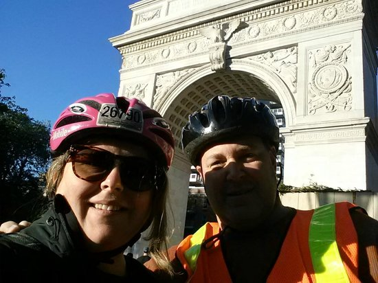 Bike the Big Apple: Washington Square Park