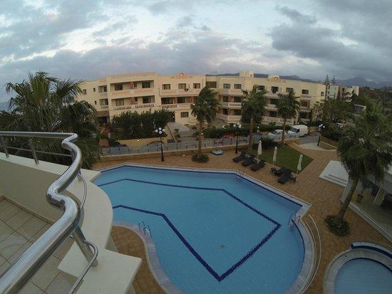 Molos Bay Hotel: View from balcony