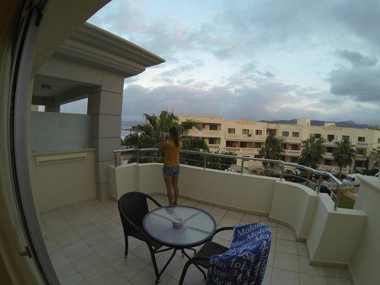 Molos Bay Hotel: Balcony