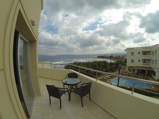 Molos Bay Hotel : View from balcony