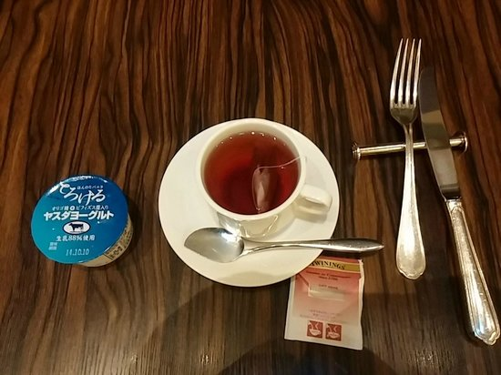 ANA Crowne Plaza Niigata : 朝食時のヨーグルト