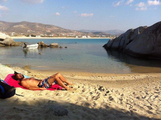 Mikri Vigla Beach: En una calita de Mikry Vigla. De ensueño