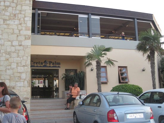 Creta Palm: Main Entrance